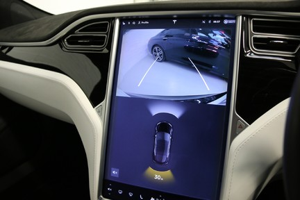 Tesla Model S 100D Premium AWD with a High Specification 21