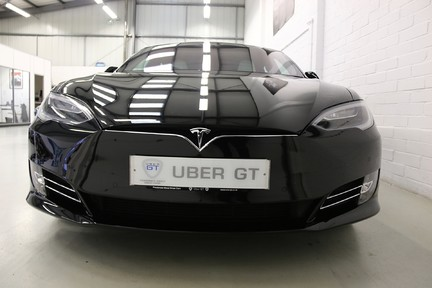 Tesla Model S 100D Premium AWD with a High Specification 9
