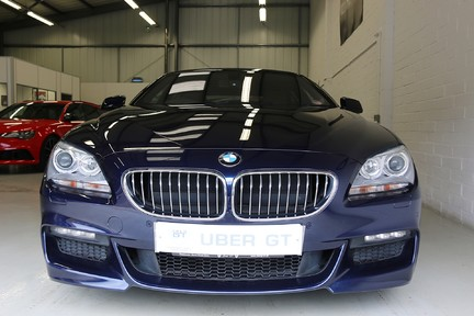 BMW 6 Series 640D M Sport Gran Coupe with a Huge Specification 8