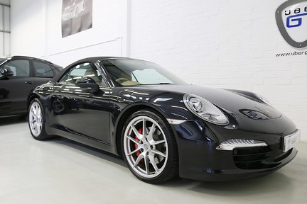 Porsche 911 Carrera S PDK with a Lovely Specification and PSH 27