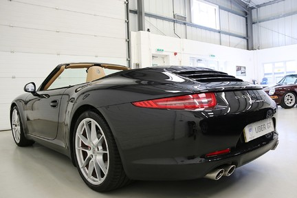 Porsche 911 Carrera S PDK with a Lovely Specification and PSH 3