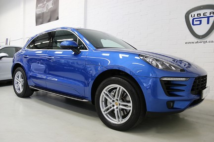 Porsche Macan D S PDK with Air Suspension and Burmester 2