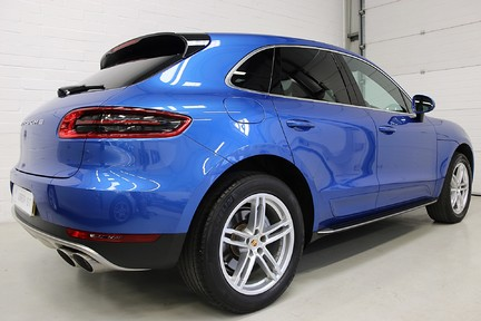 Porsche Macan D S PDK with Air Suspension and Burmester 5