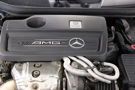 Mercedes-Benz A Class A45 AMG 4Matic with Performance Exhaust Service History