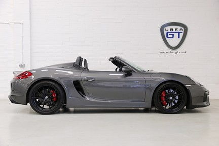 Porsche Boxster Spyder with Bucket Seats and More 1