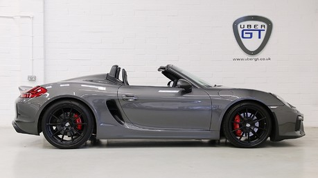 Porsche Boxster Spyder with Bucket Seats and More Video
