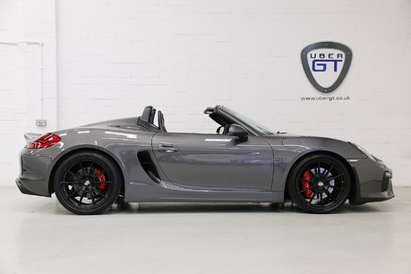 Porsche Boxster Spyder with Carbon Bucket Seats