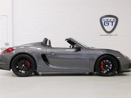 Porsche Boxster Spyder with Bucket Seats and More