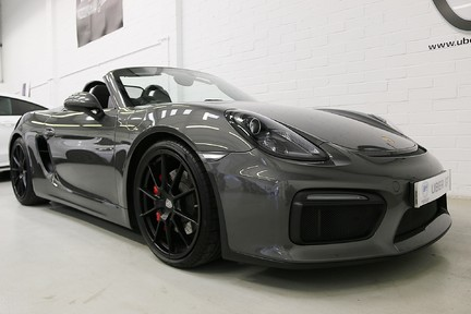 Porsche Boxster Spyder with Bucket Seats and More 2