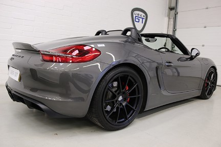 Porsche Boxster Spyder with Bucket Seats and More 5