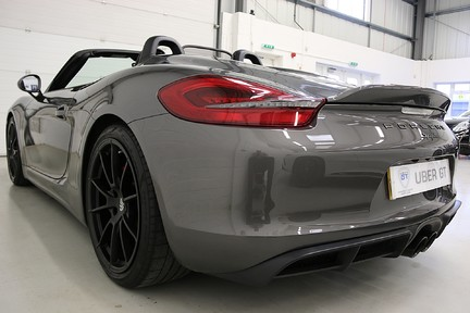 Porsche Boxster Spyder with Bucket Seats and More 3