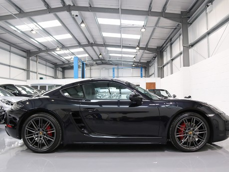 Porsche 718 Cayman S PDK with a Huge Specification