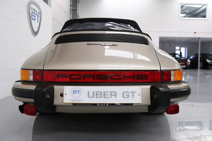 Porsche 911 SC Cabriolet - A special car with a great history 9