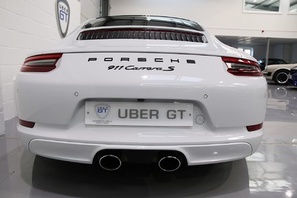 Porsche 911 Carrera S PDK with an Ultimate Specification 7