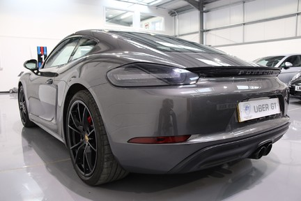 Porsche 718 Cayman S PDK with 20 Inch Alloys, Sports Exhaust and More 3