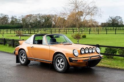 Porsche 911 Targa Safari Goldfinger 18