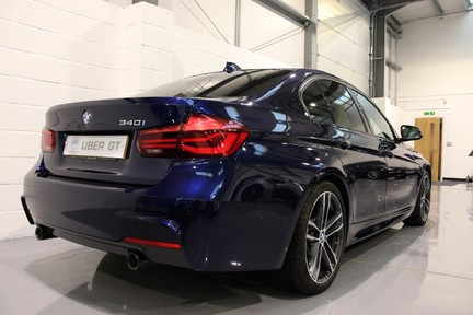 BMW 3 Series 340i M Sport Shadow Edition with a High Specification 6