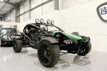Ariel Nomad Supercharged with huge spec 2