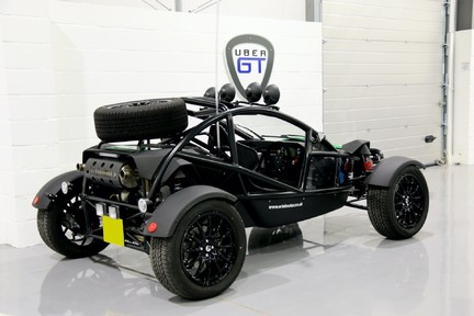 Ariel Nomad Supercharged with huge spec 3