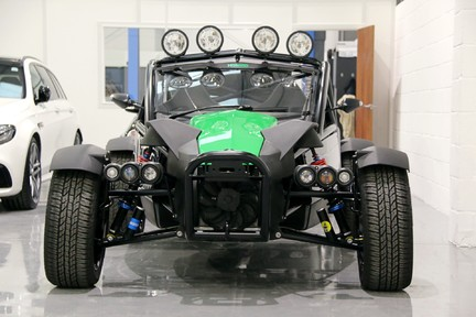 Ariel Nomad Supercharged with huge spec 9