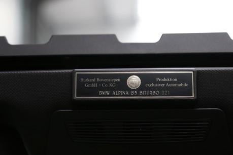 BMW Alpina B5 Bi-Turbo A Rare and Fabulous Alpina B5 Bi-Turbo with a Fantastic Specification Service History