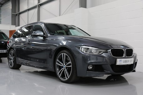 BMW 3 Series 335d xDrive M Sport Touring with A Great Specification Service History