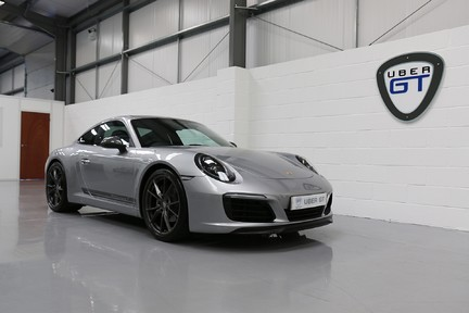 Porsche 911 Carrera T PDK Coupe with 918 Carbon Bucket Seats 22