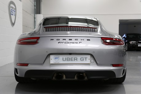 Porsche 911 Carrera T PDK Coupe with 918 Carbon Bucket Seats Service History