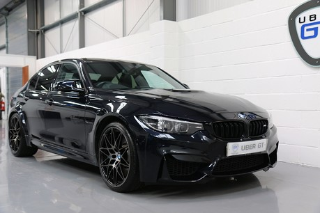 BMW M3 Competition Package with M Performance Exhaust Specification