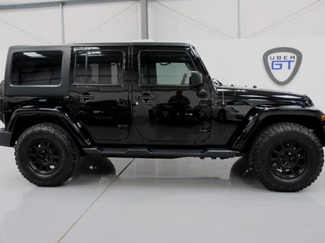 Jeep Wrangler Sahara Unlimited CRD - Convertible and Unique Spec