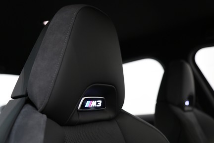 BMW M3 Competition with Comfort and Visibility Pack 16