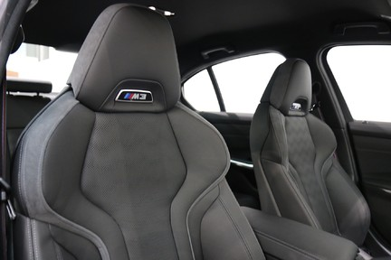 BMW M3 Competition with Comfort and Visibility Pack 8