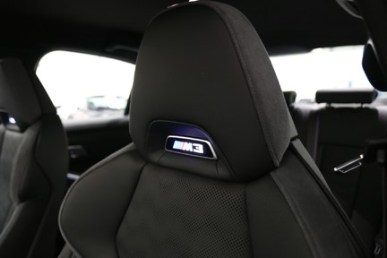BMW M3 Competition with Comfort and Visibility Pack 30