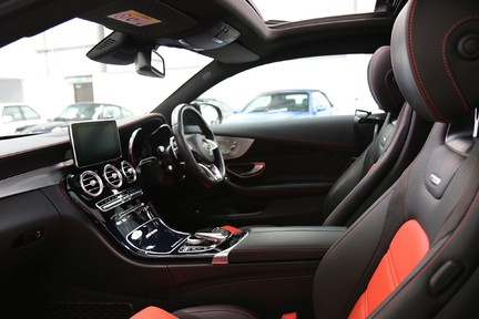 Mercedes-Benz C Class AMG C 63 Premium with Forged Alloys, AMG Exhaust and More 32