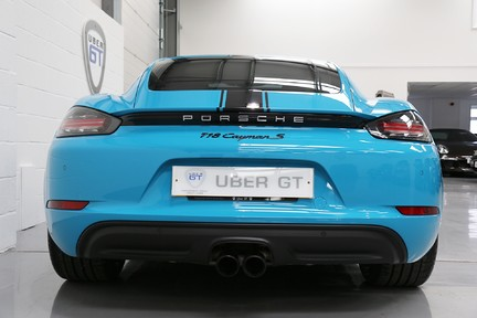Porsche 718 Cayman S PDK with a Great Spec and Special Colour 7