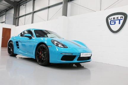 Porsche 718 Cayman S PDK with a Great Spec and Special Colour 17