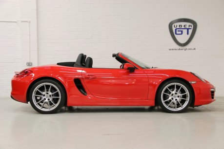 "Porsche Boxster 24V with a Huge Spec including Navigation and 20"" Alloys"