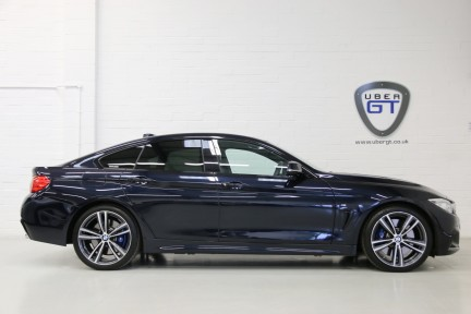 BMW 4 Series 435I M Sport Gran Coupe with an Ultimate Spec and Service Pack 1