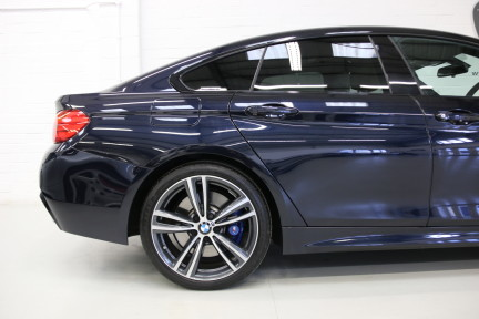 BMW 4 Series 435I M Sport Gran Coupe with an Ultimate Spec and Service Pack 24