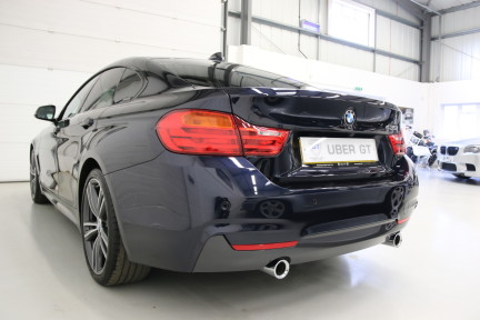 BMW 4 Series 435I M Sport Gran Coupe with an Ultimate Spec and Service Pack 3