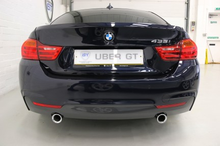 BMW 4 Series 435I M Sport Gran Coupe with an Ultimate Spec and Service Pack 7