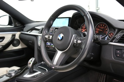 BMW 4 Series 435I M Sport Gran Coupe with an Ultimate Spec and Service Pack 6