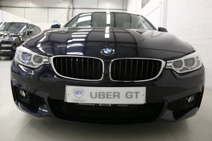 BMW 4 Series 435I M Sport Gran Coupe with an Ultimate Spec and Service Pack 9