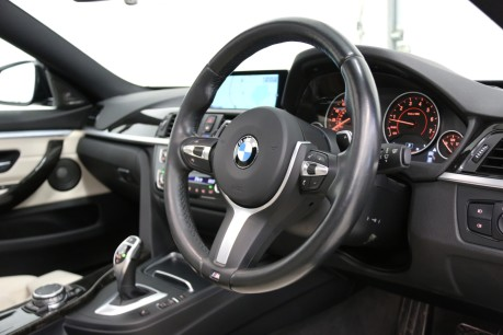 BMW 4 Series 435I M Sport Gran Coupe with an Ultimate Spec and Service Pack Specification
