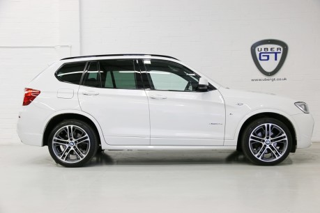 BMW X3 xDrive 30D M Sport with a Fantastic Specification