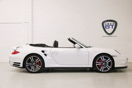 Porsche 911 997 Turbo PDK Cabriolet with a Huge Specification and FSH