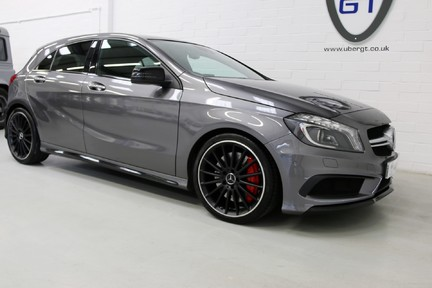 "Mercedes-Benz A Class A45 AMG 4MATIC - FMBSH, 19"" Alloys, Sunoof and Navigation 2"