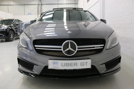 "Mercedes-Benz A Class A45 AMG 4MATIC - FMBSH, 19"" Alloys, Sunoof and Navigation 8"