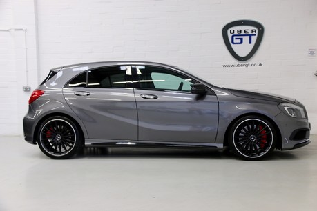 "Mercedes-Benz A Class A45 AMG 4MATIC - FMBSH, 19"" Alloys, Sunoof and Navigation"