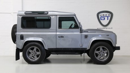 Land Rover Defender 90 TD XS Station Wagon / Rare Auto Box and Twisted Perf Upgrades Video
